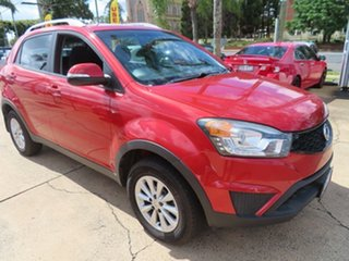 2014 Ssangyong Korando S Red Automatic Wagon.
