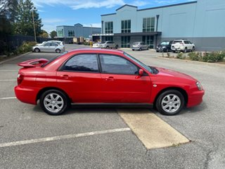 2004 Subaru Impreza S MY04 RX AWD Red 4 Speed Automatic Sedan