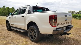2020 Ford Ranger PX MkIII 2020.7 Wildtrak Arctic White 10 Speed Automatic Double Cab Pick Up