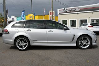2013 Holden Commodore VF MY14 SS Sportwagon Silver 6 Speed Sports Automatic Wagon.