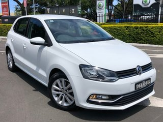 2015 Volkswagen Polo 6R MY15 81TSI DSG Comfortline White 7 Speed Sports Automatic Dual Clutch