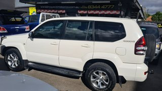 2004 Toyota Landcruiser Prado GRJ120R GXL (4x4) White 4 Speed Automatic Wagon