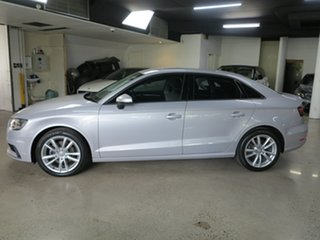2016 Audi A3 8V MY16 Attraction S Tronic Lotus Grey 7 Speed Sports Automatic Dual Clutch Sedan