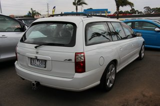 2007 Holden Commodore VZ@VE SVZ White 4 Speed Automatic Wagon