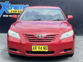 2007 Toyota Camry ACV40R Altise Red 5 Speed Automatic Sedan.
