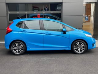 2013 Honda Jazz GE MY13 VTi-S Blue 5 Speed Sports Automatic Hatchback.