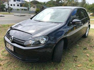 2012 Volkswagen Golf VI MY13 118TSI DSG Comfortline Black 7 Speed Sports Automatic Dual Clutch.