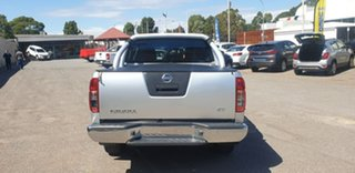 2013 Nissan Navara D40 S6 MY12 ST Silver 5 Speed Sports Automatic Utility