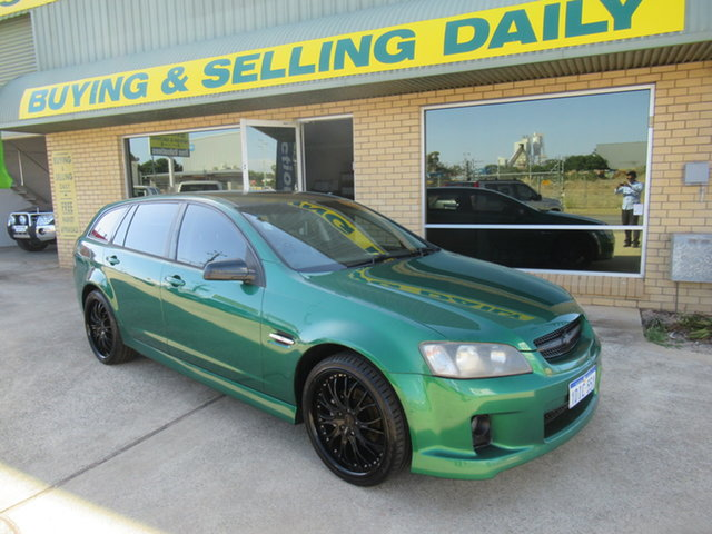 Used Holden Commodore VE SV6 Mandurah, 2009 Holden Commodore VE SV6 Green 6 Speed Automatic Wagon