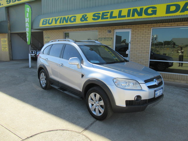 Used Holden Captiva CG LX Mandurah, 2010 Holden Captiva CG LX Grey 5 Speed Automatic Wagon