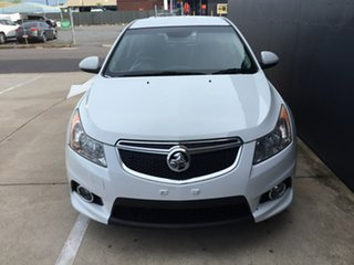 2014 Holden Cruze JH Series II MY14 SRi Z Series White 6 Speed Sports Automatic Hatchback.
