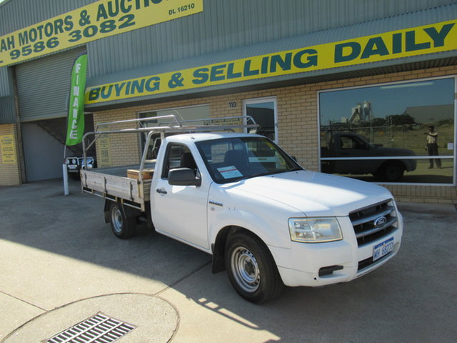 Used Ford Ranger PJ XL Mandurah, 2007 Ford Ranger PJ XL White 5 Speed Manual Trayback
