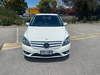2013 Mercedes-Benz B-Class W246 B180 DCT White 7 Speed Sports Automatic Dual Clutch Hatchback.