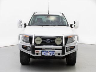 2015 Ford Ranger PX Wildtrak 3.2 (4x4) White 6 Speed Automatic Crew Cab Utility.