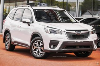 2020 Subaru Forester S5 2.5I White Constant Variable SUV.
