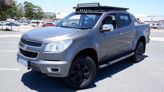2012 Holden Colorado RG MY13 LTZ Crew Cab Grey 6 Speed Sports Automatic Utility