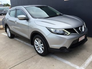 2014 Nissan Qashqai J11 ST Silver 1 Speed Constant Variable Wagon.