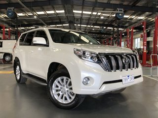 2017 Toyota Landcruiser Prado GDJ150R VX White 6 Speed Sports Automatic Wagon