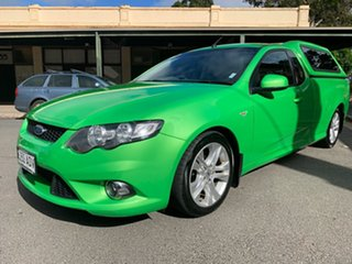 2009 Ford Falcon FG XR6 Ute Super Cab Green 5 Speed Sports Automatic Utility