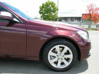 2007 Mercedes-Benz C200 W204 Kompressor Classic Maroon 5 Speed Auto Tipshift Sedan