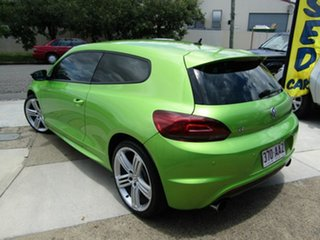 2011 Volkswagen Scirocco 1S MY12 R Coupe Green 6 Speed Manual Hatchback.