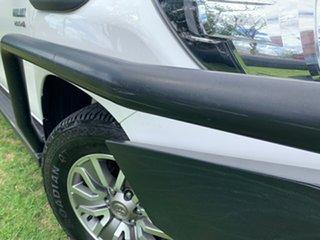 2017 Toyota Hilux GUN126R SR Extra Cab Glacier White 6 Speed Manual Utility.