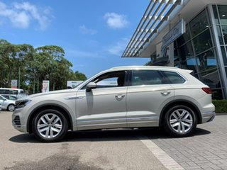 2020 Volkswagen Touareg CR MY20 190TDI Tiptronic 4MOTION Adventure Beige 8 Speed Sports Automatic