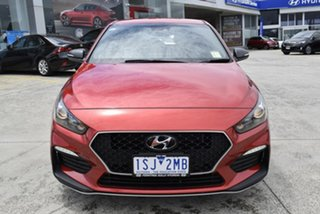 2020 Hyundai i30 PD.3 MY20 N Line D-CT Lava Orange 7 Speed Sports Automatic Dual Clutch Hatchback.