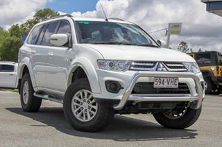 2014 Mitsubishi Challenger PC (KH) MY14 White 5 Speed Manual Wagon.