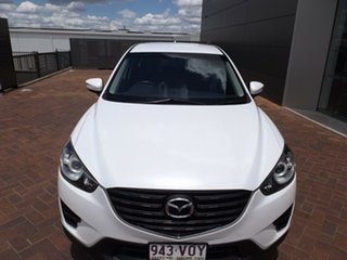 2015 Mazda CX-5 KE1072 Maxx SKYACTIV-Drive White 6 Speed Sports Automatic Wagon