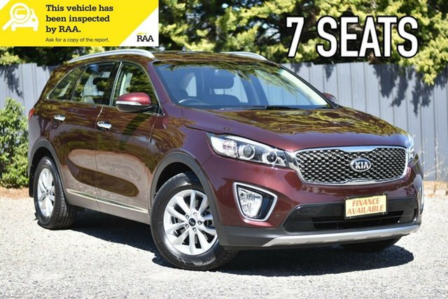 Used Kia Sorento UM MY16 SI Melrose Park, 2016 Kia Sorento UM MY16 SI Maroon 6 Speed Sports Automatic Wagon