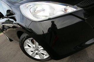 2012 Honda Jazz GE MY12 Vibe Crystal Black 5 Speed Automatic Hatchback.