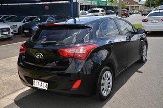 2016 Hyundai i30 GD4 Series 2 Update Active Black 6 Speed Manual Hatchback.