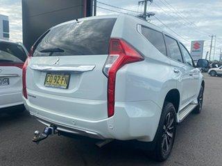 2017 Mitsubishi Pajero Sport White Automatic Wagon