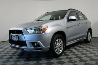 2011 Mitsubishi ASX XA MY12 2WD Cool Silver (Metallic) 6 Speed Constant Variable Wagon.