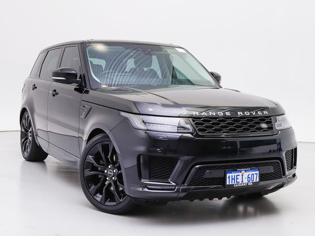 Used Land Rover Range Rover LW MY18 Sport SDV6 SE (225kW), 2018 Land Rover Range Rover LW MY18 Sport SDV6 SE (225kW) Black 8 Speed Automatic Wagon