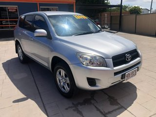 2010 Toyota RAV4 ACA38R MY09 CV 4x2 Silver 5 Speed Manual Wagon.