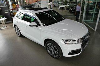 2019 Audi Q5 FY MY19 40 TDI S Tronic Quattro Ultra Sport White 7 Speed Sports Automatic Dual Clutch