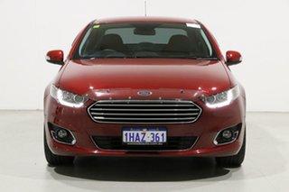 2015 Ford Falcon FG X G6E Burgundy 6 Speed Automatic Sedan.