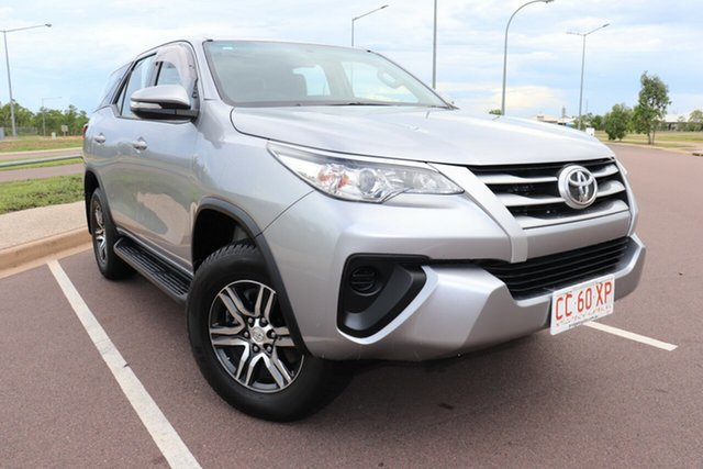 Pre-Owned Toyota Fortuner GUN156R GX Palmerston, 2016 Toyota Fortuner GUN156R GX Silver Sky 6 Speed Manual Wagon