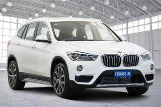 2019 BMW X1 F48 xDrive25i Steptronic AWD White 8 Speed Sports Automatic Wagon.