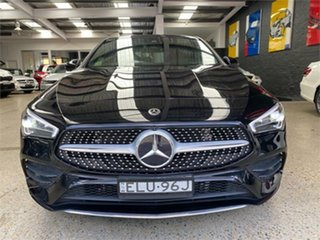 2020 Mercedes-Benz CLA-Class C118 CLA200 Cosmos Black Sports Automatic Dual Clutch Coupe.