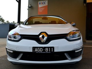2016 Renault Megane E95 MY14 GT-Line White Continuous Variable Cabriolet