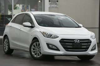 2016 Hyundai i30 GD4 Series II MY17 Active DCT White 7 Speed Sports Automatic Dual Clutch Hatchback.