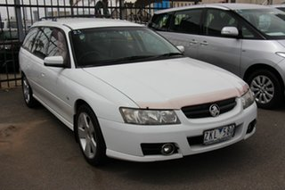 2007 Holden Commodore VZ@VE SVZ White 4 Speed Automatic Wagon.