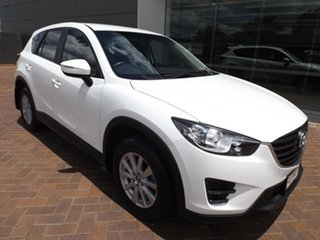 2015 Mazda CX-5 KE1072 Maxx SKYACTIV-Drive White 6 Speed Sports Automatic Wagon.