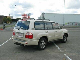 2003 Lexus LX470 UZJ100R (4x4) Cream 5 Speed Automatic Wagon