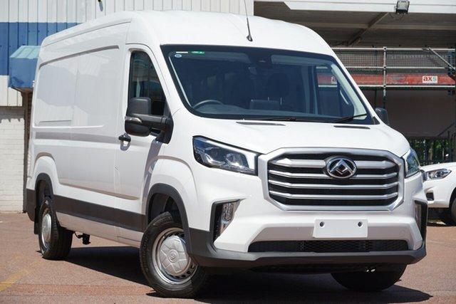New LDV Deliver 9 MY21 Mid Roof LWB Nunawading, 2020 LDV Deliver 9 MY21 Mid Roof LWB Blanc White 6 Speed Automatic Van