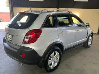 2011 Holden Captiva CG Series II 5 (4x4) Silver 6 Speed Automatic Wagon.