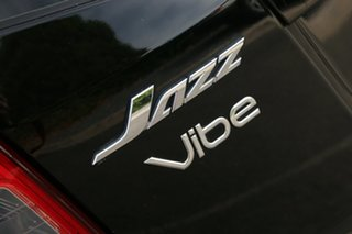 2012 Honda Jazz GE MY12 Vibe Crystal Black 5 Speed Automatic Hatchback